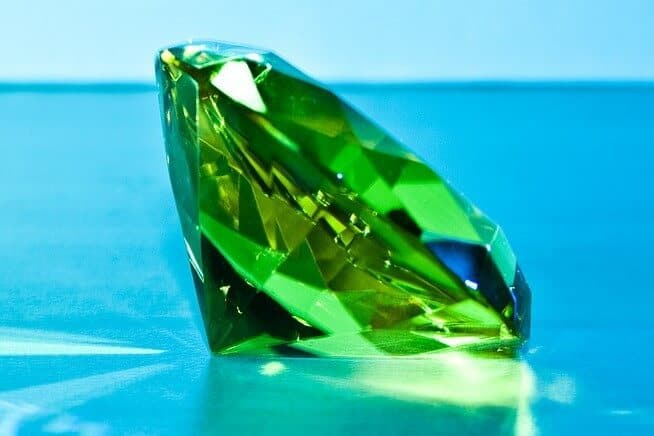 THE GREEN DIAMONDS OF M&B