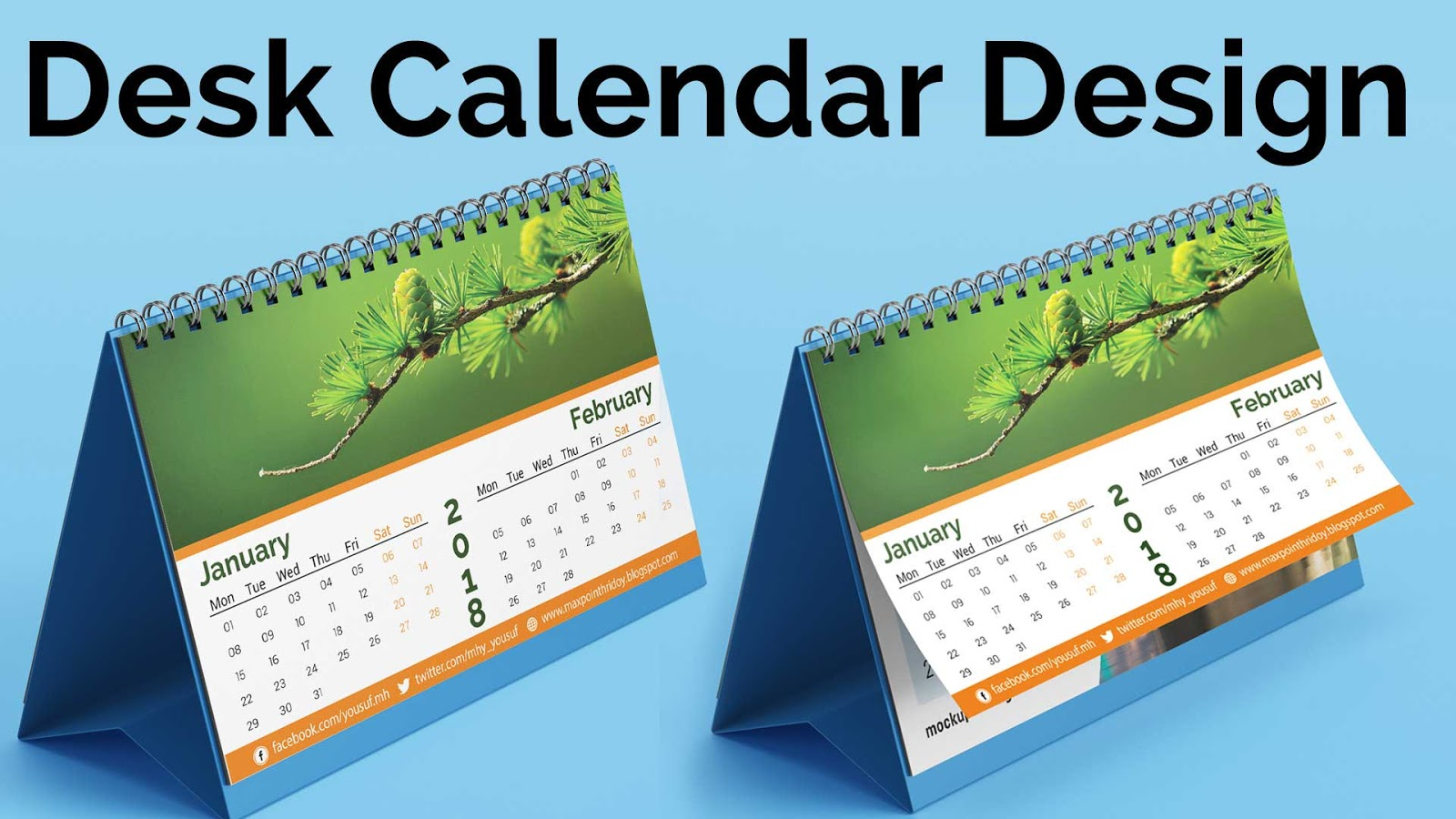 Customize Desk Calendar For a Special Gift For Your Clients