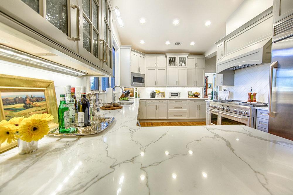 Custom kitchen ledges